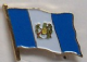 Guatemala Country Flag Enamel Pin Badge